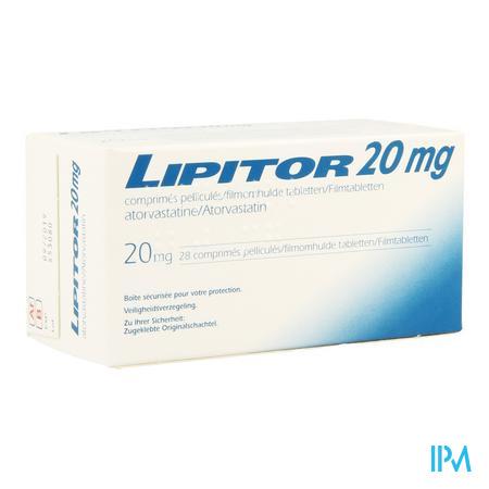 Lipitor 20 mg Tabletten 28x20 mg