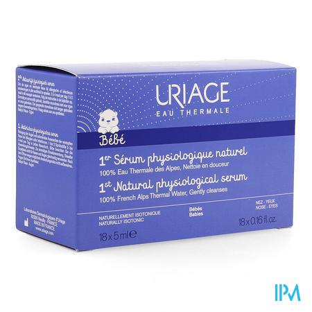 Uriage Isophy Fysiologisch Serum Naturel 20x5ml