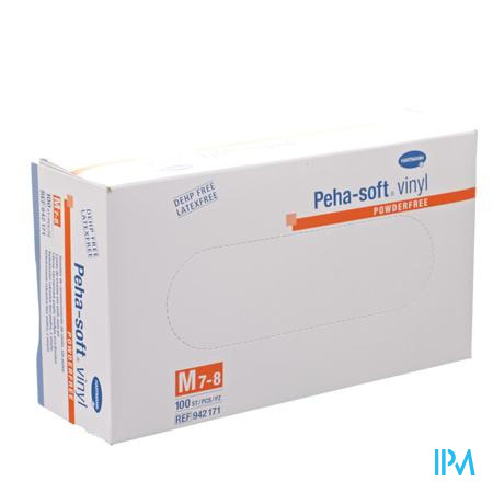 Peha Soft Handschoen Vinyl Poedervrij M 9421718