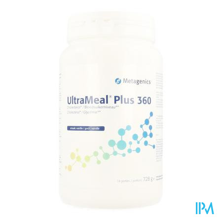 Ultrameal Plus 360 Vanille Pot 728g Metagenics