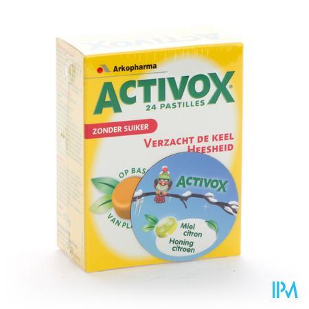 Activox Honing/Citroen 24 zuigtabletten