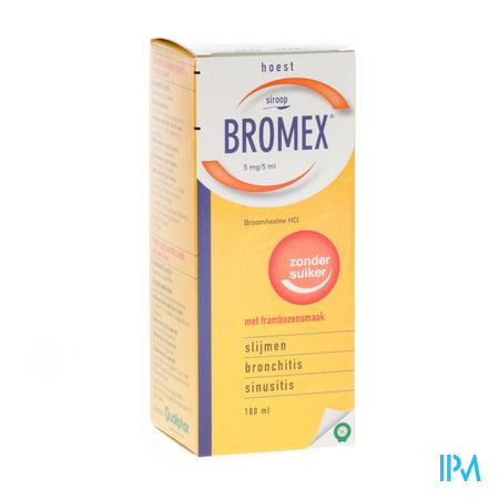 BROMEX SOL. PER OS 180ML CFR 2996320