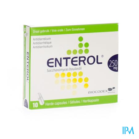 Enterol Alublister 250Mg 10 capsules