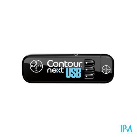 Bayer Contour Next USB Glucosemeter 1 stuk