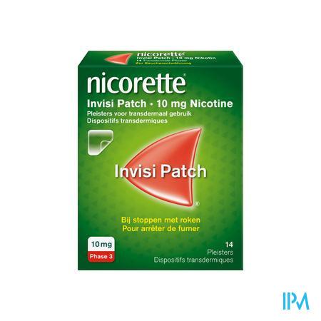 Nicorette Invisi 10mg Patch 14