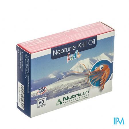 Nutrisan Neptune Krill Oil Kids 60 capsules
