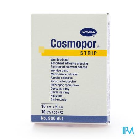 Cosmopor Strip Pflaster          6x10cm 10