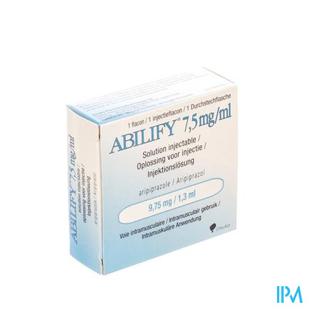 Abilify 7,5mg/ml Inj.opl Fl 1 9,75mg(1,3ml)