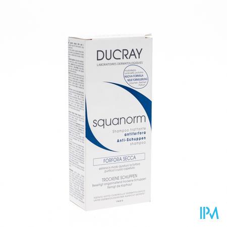 Ducray Squanorm Verzorgende Antiroosshampoo - Droge Schilfertjes 200 ml