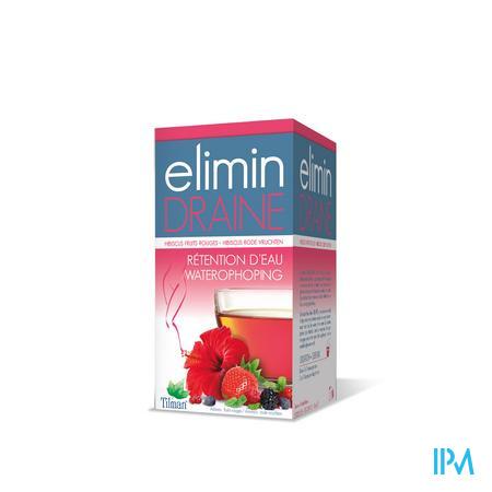 Elimin Draine Rode Vruchten Tea-bags 20