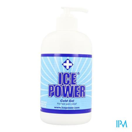 Ice Power Gel Pomp 400 ml  -  Metra