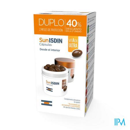 Isdin Fotoprotector Sunisdin Caps 2x30 Promo