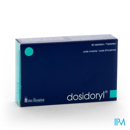 DOSIDORYL 20 filmomhulde tabletten