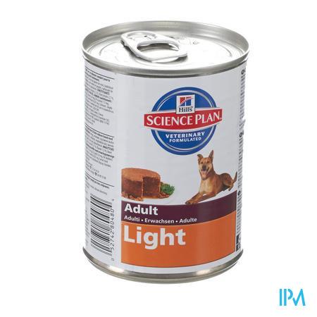 Hills Canine Hond Adult Light Kip 370 g