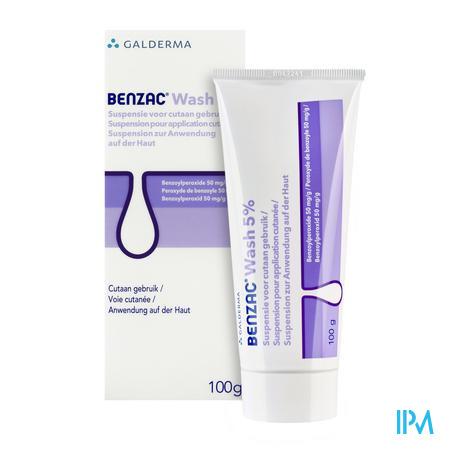 Benzac Wash 5% 100g