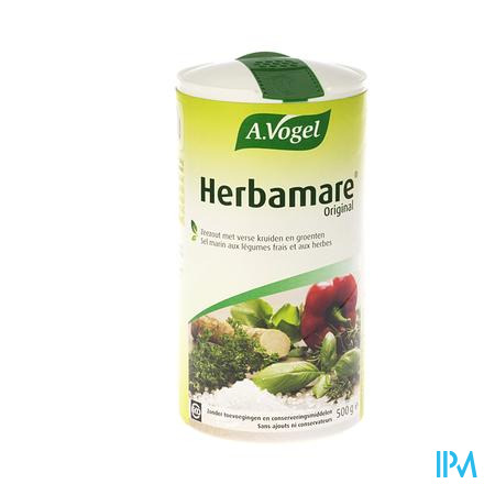 Afbeelding A. Vogel Herbamare Zeezout met Biologische Kruiden en Groenten 500 g.