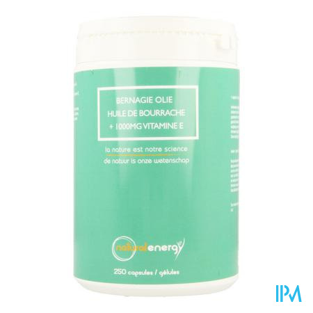 Bernagie Olie Natural Energy Caps 25