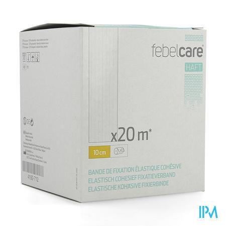 Febelcare Haft Elas.cohesief Fixatieverb. 10cmx20m