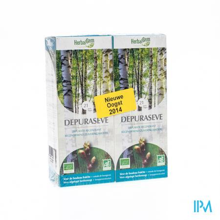 Herbalgem Depuraseve Berkensap 2 x 250 ml