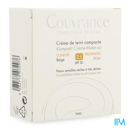 Avene Couvrance Cr Teint Comp.025 Beige Conf. 10g