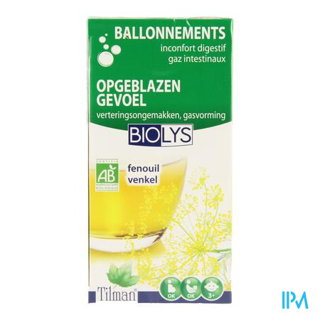 Biolys Fenouil Infusion 20 sachets