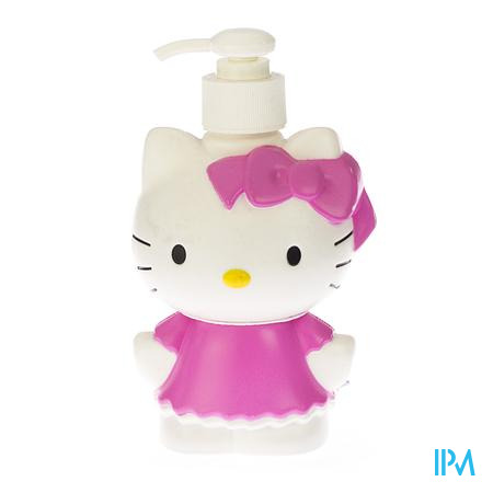 Hello Kitty Bébé 2in1 Shampooing-Douche Barbe a Papa 250 ml