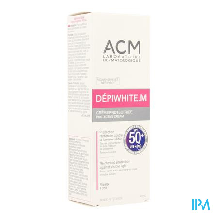 Depiwhite M Ecran Zon Creme Pompfl 50ml