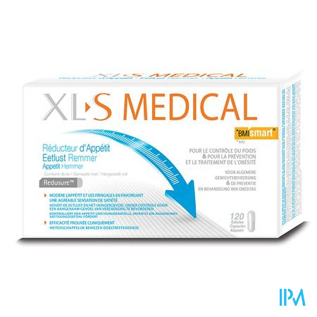 XLS Medical Eetlust Remmer 120 tabletten PROMO -30%