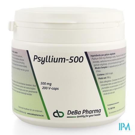 Psyllium Capsule 200  -  Deba Pharma