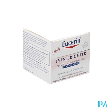Afbeelding Eucerin Even Brighter Nachtcreme pigmentatievermindering 50ml.
