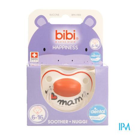 Bibi Sucette Hp Dental I Love Mama 6-16m