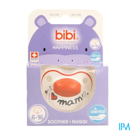 Bibi Fopspeen Hp Dental I Love Mama 6-16m