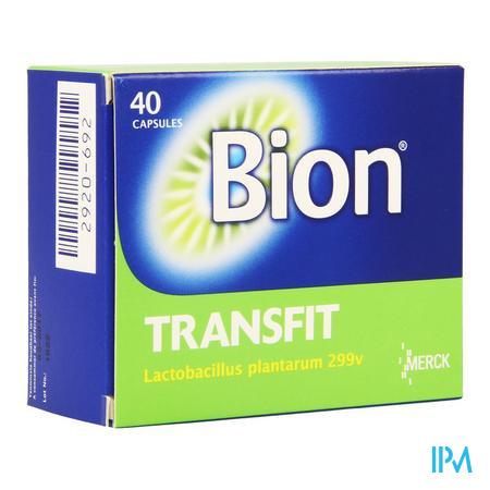 Afbeelding Bion Transfit Lactobacillus plantarum 299v 40 Capsules.