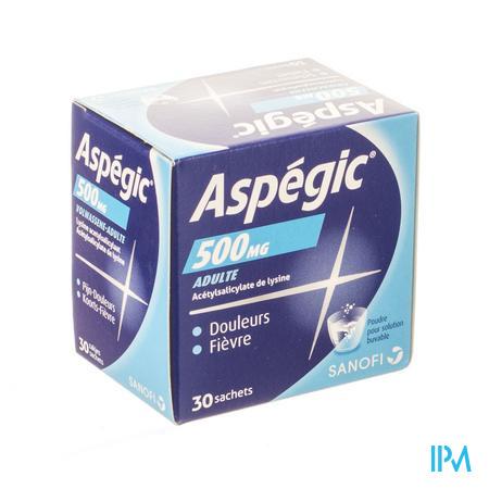 Aspegic 500 Pulv 30x 500 mg