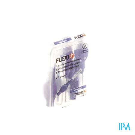 Tandex Flexi Violet Interdent.borsteltje Medium 6
