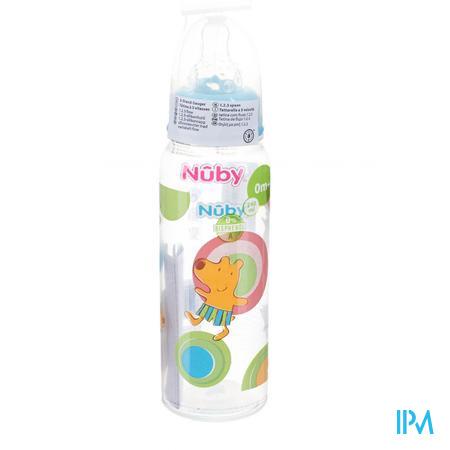 Nuby Biberon Polypropyleen 3w Sil 0-12m 1 pièce