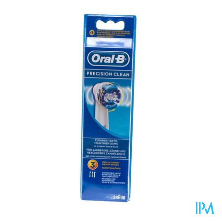 Oral B Braun Refill Clean 3 stuks