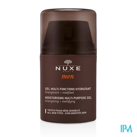 Afbeelding Nuxe Men Multifunctionele Hydraterende, Verkwikkende en Matterende Gel met Eik- en Haagbeukextracten voor Alle Huidtypes 50 ml.
