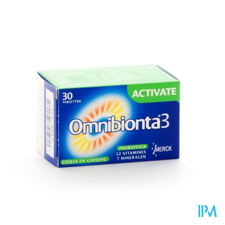 Omnibionta 3 Activate 30 tabletten