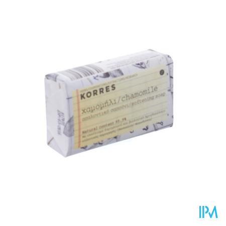 Afbeelding Korres Verzorgend Zeepblokje met Kamille 125 g.