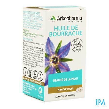 Arkogelules Huile De Bourrache 60