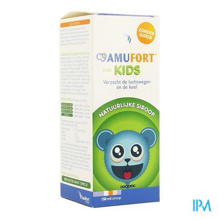 Amufort Kids Siroop Zonder Suiker 150ml
