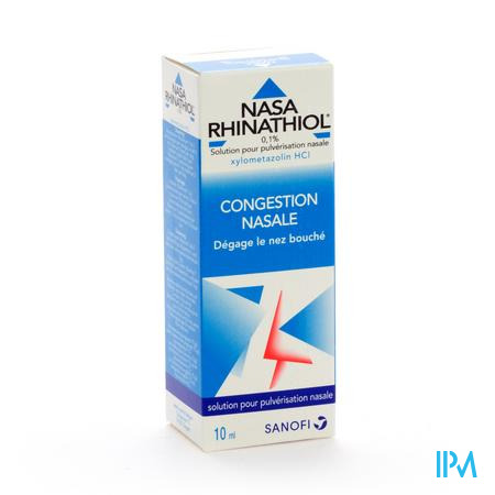 Nasa Rhinathiol Adultes 10 ml