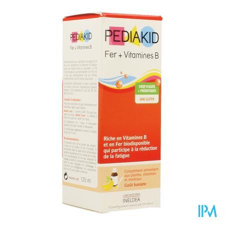 Pediakid Fer+vit B Sos Buv Fl 125ml