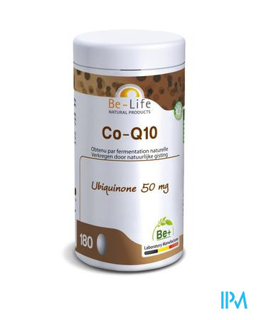 Be- Life Enzyme Co-Q10 50mg 180 capsules
