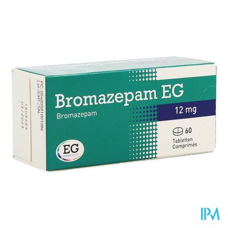Bromazepam Eg Comp. 60 X 12mg