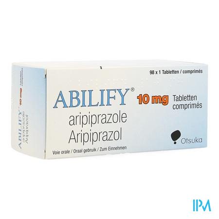 Abilify 10mg Pi Pharma Comp 98 X 10mg Pip