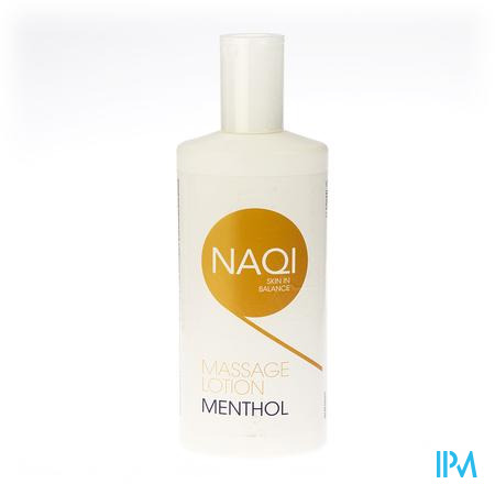 NAQI Massage Lotion Menthol 500ml