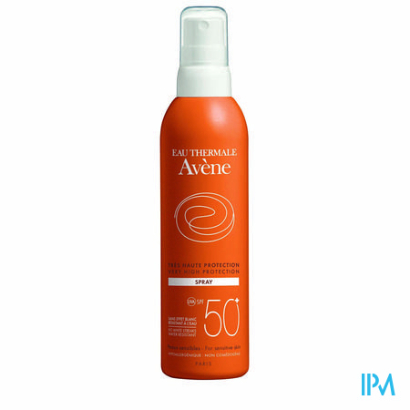 Avene Zonnespray Factor 30+  Spray 200 ml