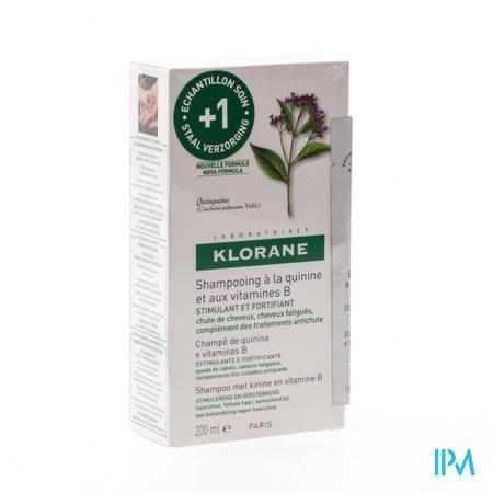 Klorane Shampooing Kinine Vitaminé B Complex 200 ml